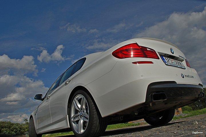TEST: BMW M550d xDrive – švihák dieselový