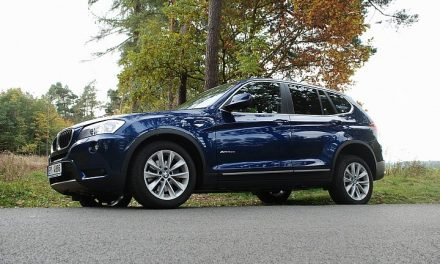 TEST BMW X3 xDrive 20d