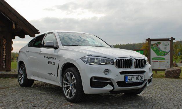 Fotogalerie: BMW X6 M50d 2015 (TEST)