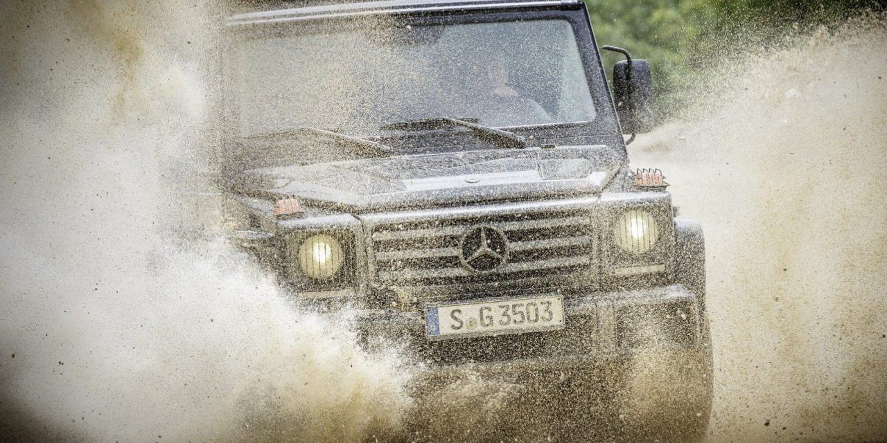 Fotogalerie: Mercedes-Benz G 350d Professional (2017)