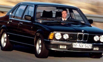 BMW 745i e23– downsizing vdobě, kdy tento termín nikdoneznal