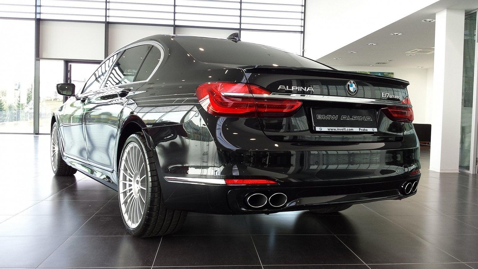 BMW Alpina B7 Biturbo– kočár pro císaře