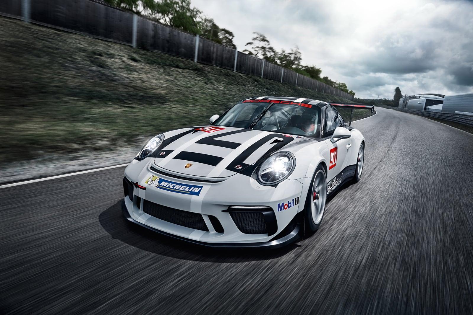 Fotogalerie: Porsche 911 GT3 Cup (2017)