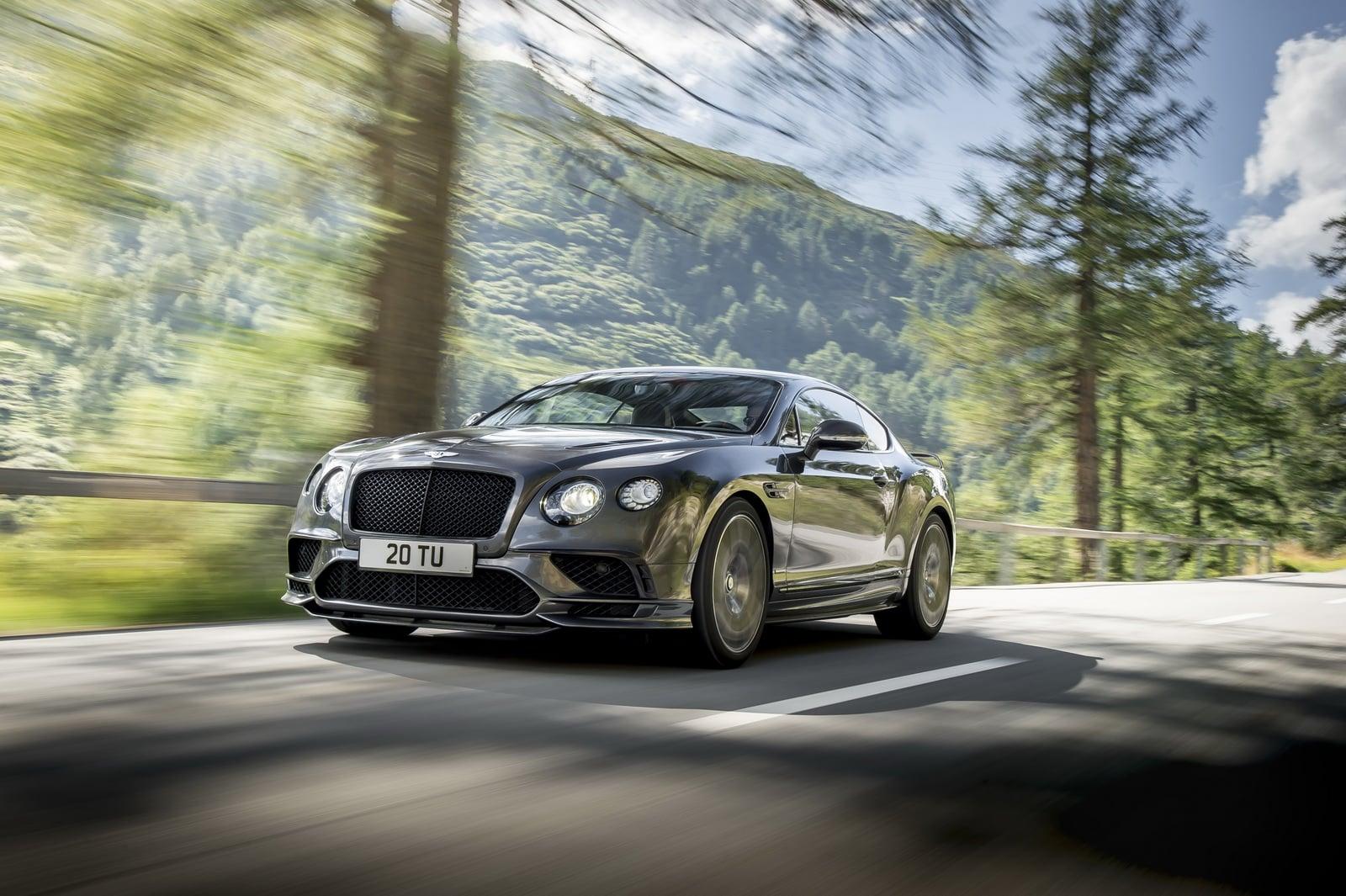Fotogalerie: Bentley Continental Supersports (2017)