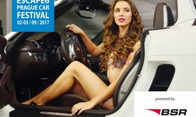 BSR – generální partner Prague Car Festival 2017