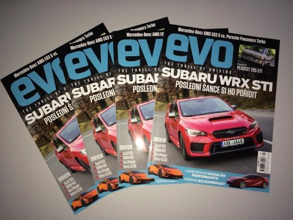 Magazín evo 049 v prodeji