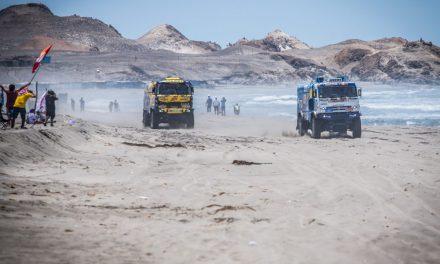 Dakar: Po pekelné čtvrté etapě Macík celkově čtvrtý