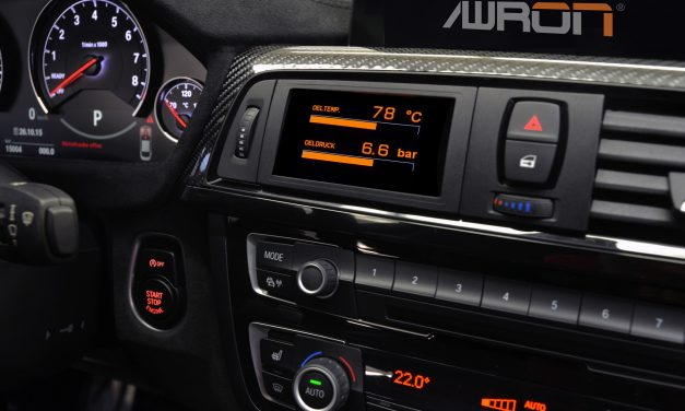 Awron = all-in-one display pro BMW M2 F87