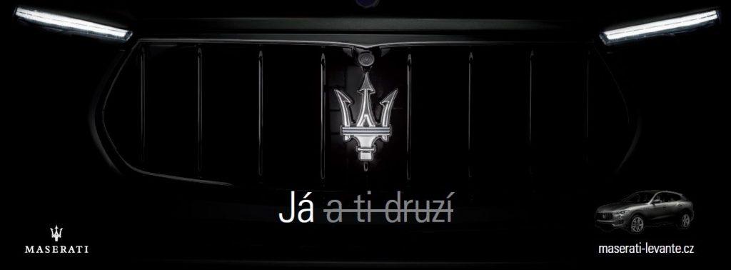 Scuderia Praha spouští kampaň na podporu prodeje značky Maserati. Zaměří se na její výjimečnost
