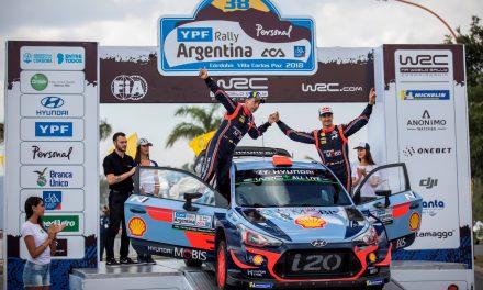 Hyundai obsadil v Rallye Argentina dvě místa na stupních vítězů a zvětšil svůj náskok v průběžném pořadí mistrovství světa