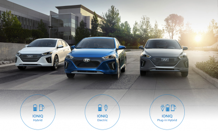 Hyundai se zúčastní Czech New Energies Rallye 2018 s celou modelovou řadou ekologicky šetrných vozů IONIQ