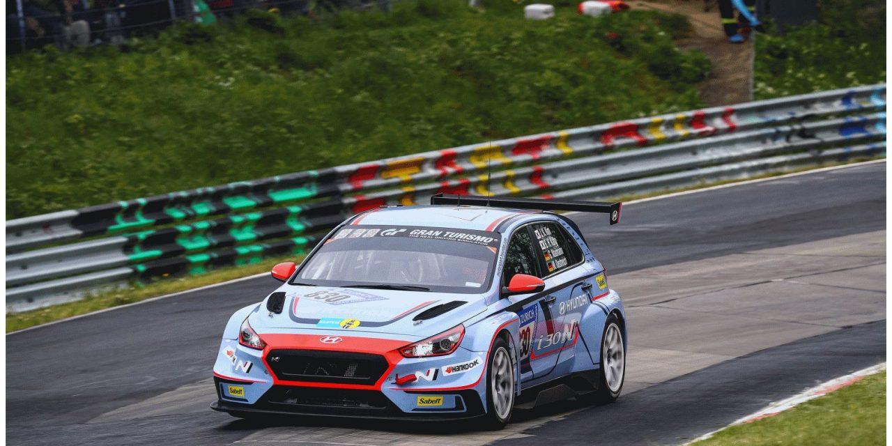 Hyundai slaví úspěšné výsledky z 24h závodu na Nürburgringu