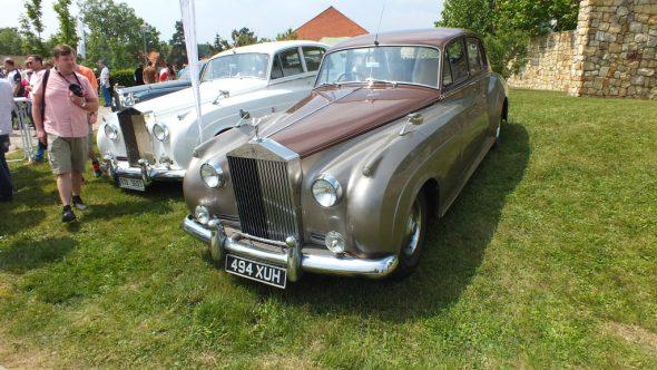 Sraz vozů Bentley, Rolls Royce a dalších veteránů