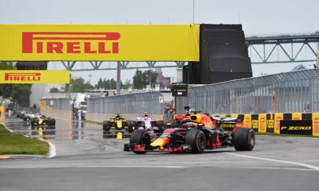 F1 Velká cena Kanady – závod