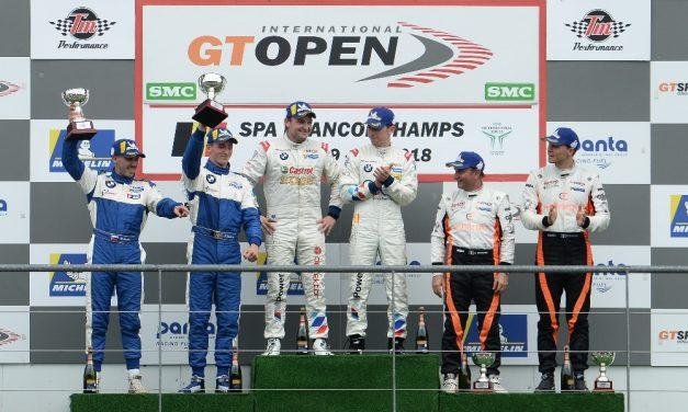 Ohromná radost u Šenkýř Motorsport, Gonda a Eriksson vybojovali v GT Open druhé místo