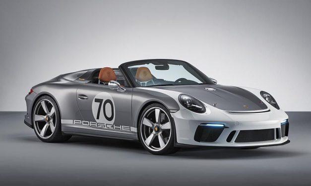 Porsche 911 Speedster Concept: otevřený, puristický a s více než 500 k