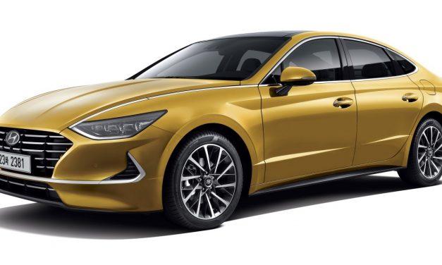 Hyundai nabízí první pohledy na zcela nový model Sonata