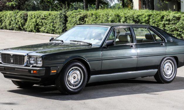 Maserati Quattroporte pro prezidenta