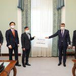 Hyundai pomůže vládě České republiky