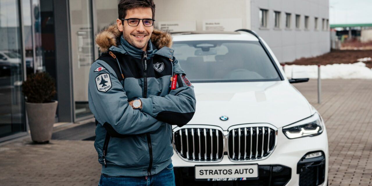 Martin Macík Jr. řídí nové BMW X5