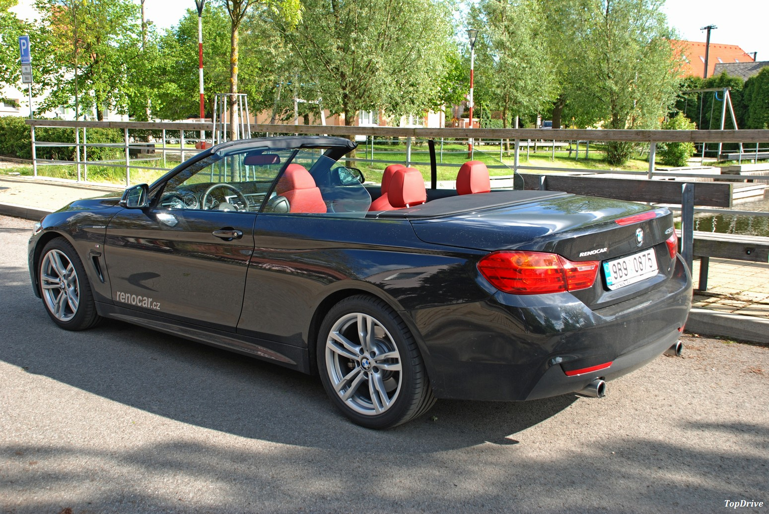 fotogalerie bmw 435i cabrio test. Black Bedroom Furniture Sets. Home Design Ideas